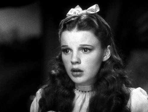 Judy Garland as Dorothy from the Wizard of Oz