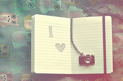 notebook with camera