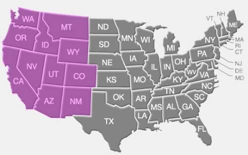 western-us_map