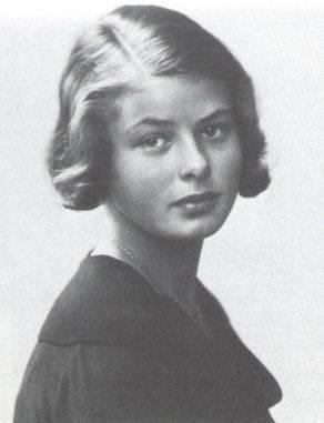 Young Ingrid Bergman