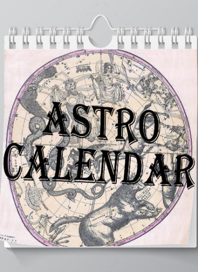 AstroCalendar Cover