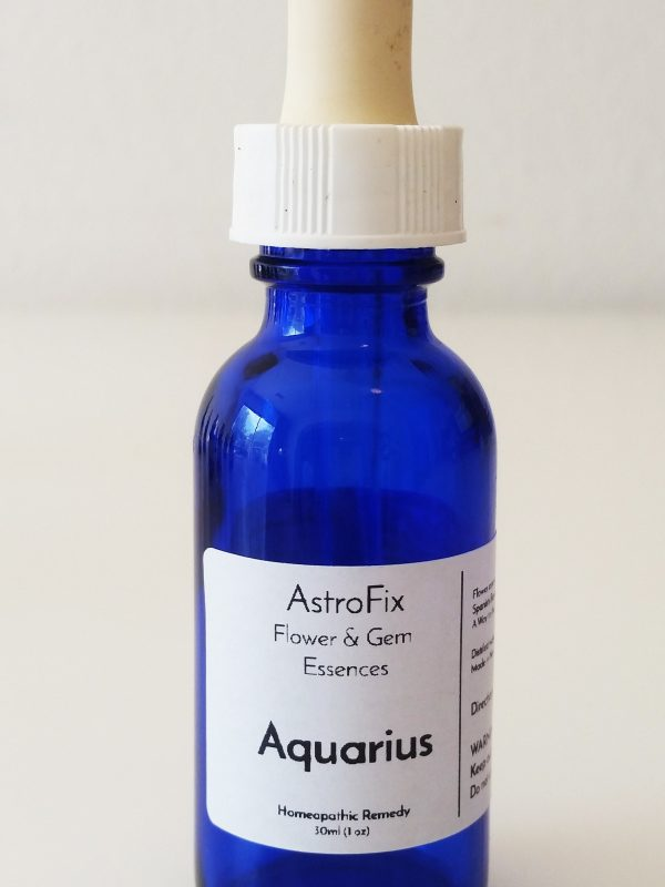 aquarius flower essence