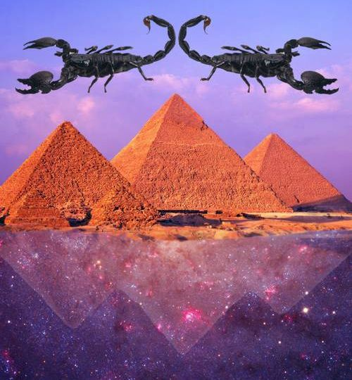 scorpio house astrology pyramids