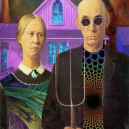 american gothic psychedelic uranus taurus astrology
