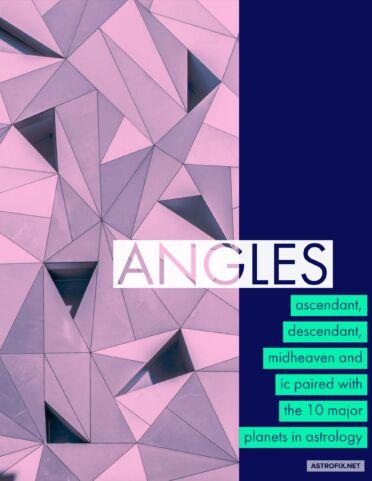 ANGLES MIDHEAVEN ASCENDANT DESCENDANT IC EBOOK ASTROFIX ASTROLOGY