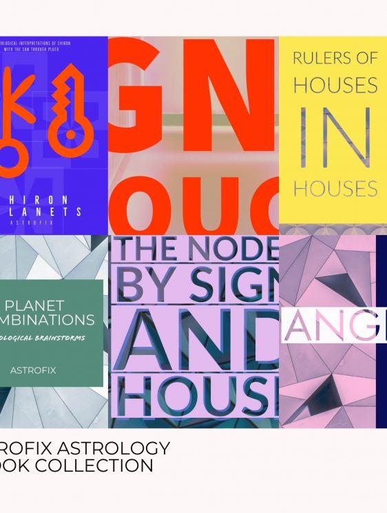 Ebook Bundle Collection Of 6 Astrofix Ebooks