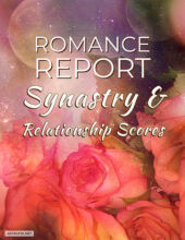 AstroFix ROMANCE REPORT - Composite and relationship scores astrology cover