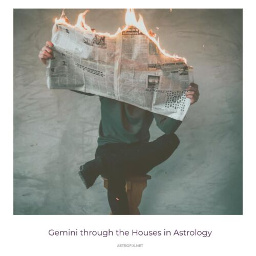Gemini through the Houses in Astrology