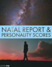 NATAL REPORT & PERSONALITY SCORES ASTROFIX ASTROLOGY REPORT