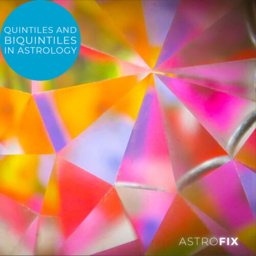 Quintiles and Biquintiles in Astrology AstroFix.net