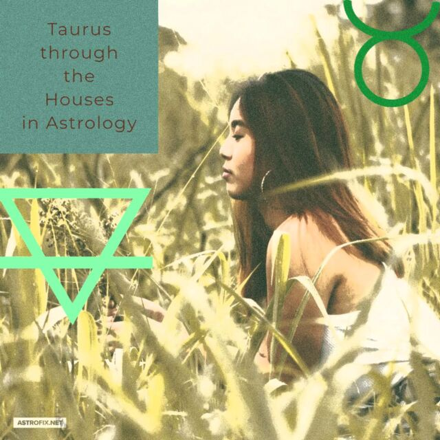 Taurus through the Houses in Astrology astrofix.net