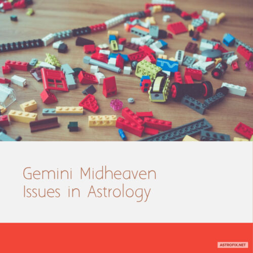 Gemini Midheaven Issues in Astrology