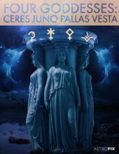 4 GODDESSES ASTROLOGY CERES JUNO PALLAS VESTA REPORT ASTROFIX ASTROLOGY REPORT