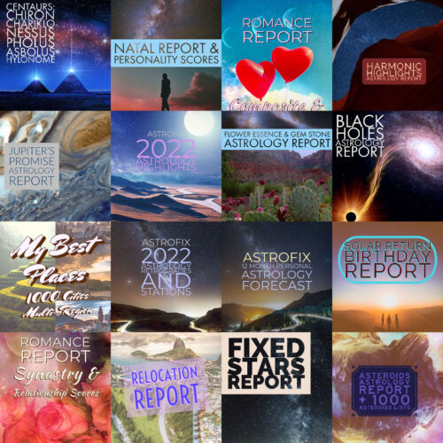 AstroFix Astrology Reports Bundle Cover Image