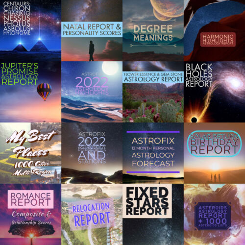 AstroFix Astrology Reports Image