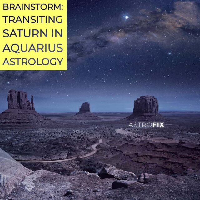 AstroFix Transiting Saturn in Aquarius through the houses astrofix.net