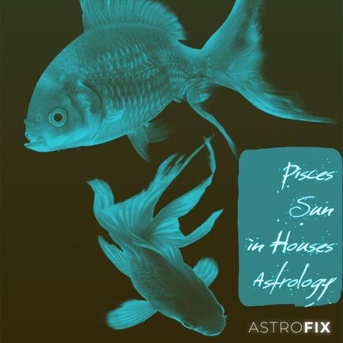 Pisces Sun in Houses Astrology AstroFix.net