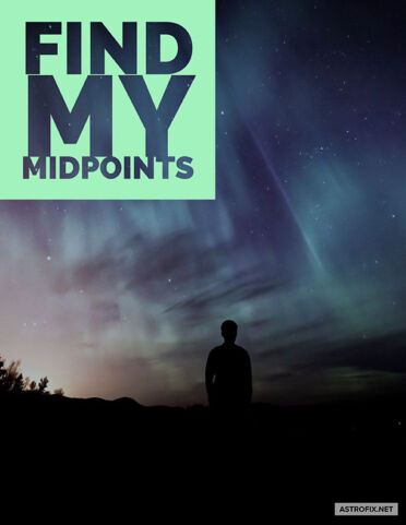 AstroFix Find My Midpoints Astrology Report