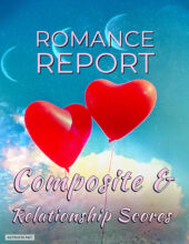 AstroFix ROMANCE REPORT - Composite and relationship astrology cover