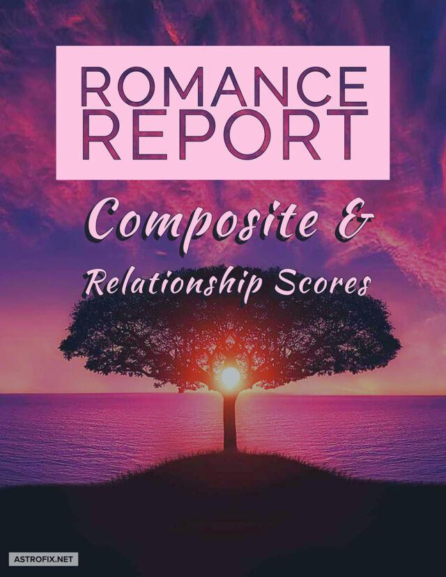 AstroFix ROMANCE REPORT - Composite and relationship scores image