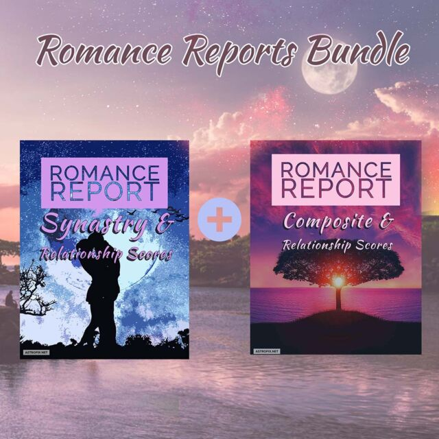 AstroFix Romance Astrology Reports Bundle - Synastry and Composite - astrofix.net