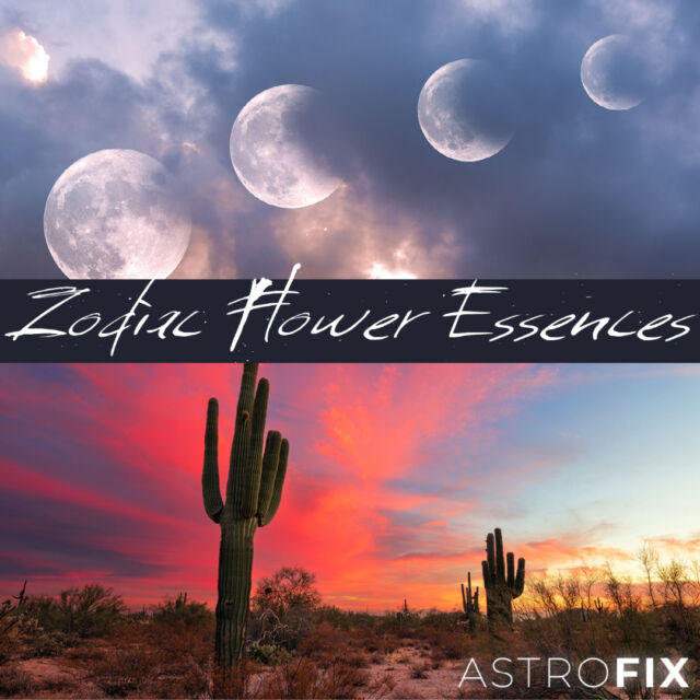 AstroFix Zodiac Flower & Gem Essences for Astrology