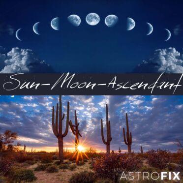 SUN-MOON-ASCENDANT FLOWER ESSENCE KIT astrofix.net astrology