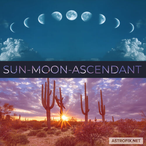Sun-Moon-Ascendant Astrology Flower Essence Kit astrofix.net