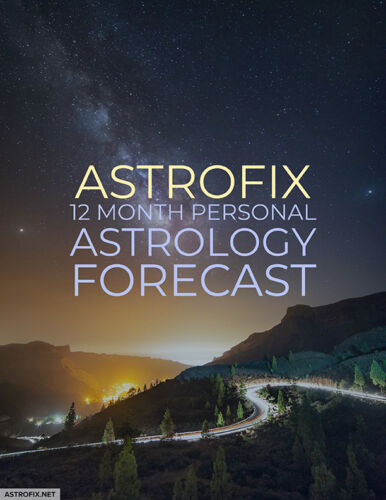 AstroFix 12 Month Personal Astrology Forecast Image