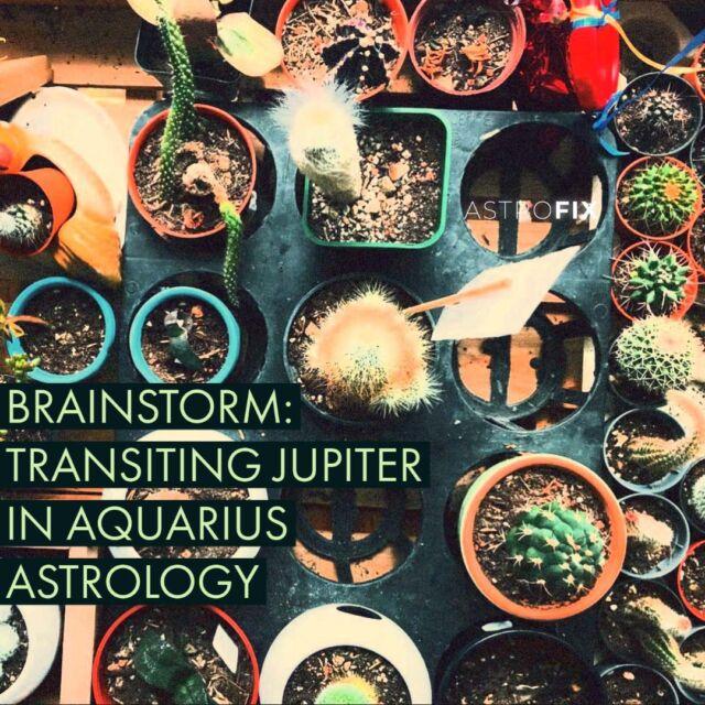 AstroFix Brainstorm Jupiter in Aquarius through the houses astrology