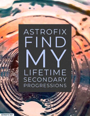 AstroFix Find My Lifetime Secondary Progressions_image