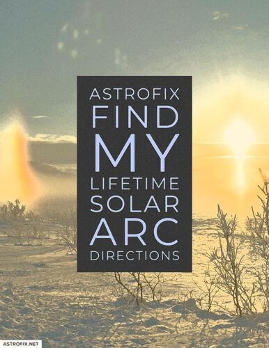 AstroFix Find My Lifetime Solar Arc Directions_image